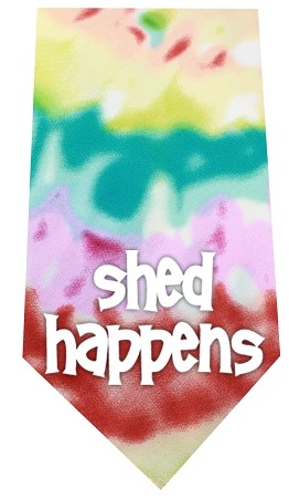Shed Happens Screen Print Bandana Tie Dye